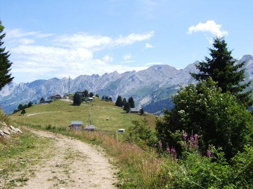 Plateau de Beauregard à La Clusaz