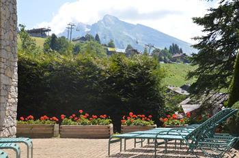 Hotel Alpen Roc Solarium
